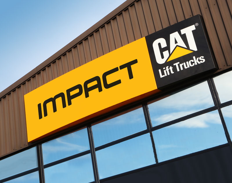 Impact and Cat Forklifts