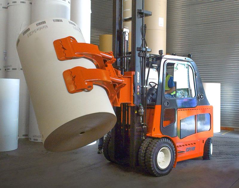 Carer Electric Forklift Truck Range - high productivity