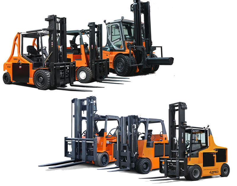 Carer Electric Forklift Truck Range