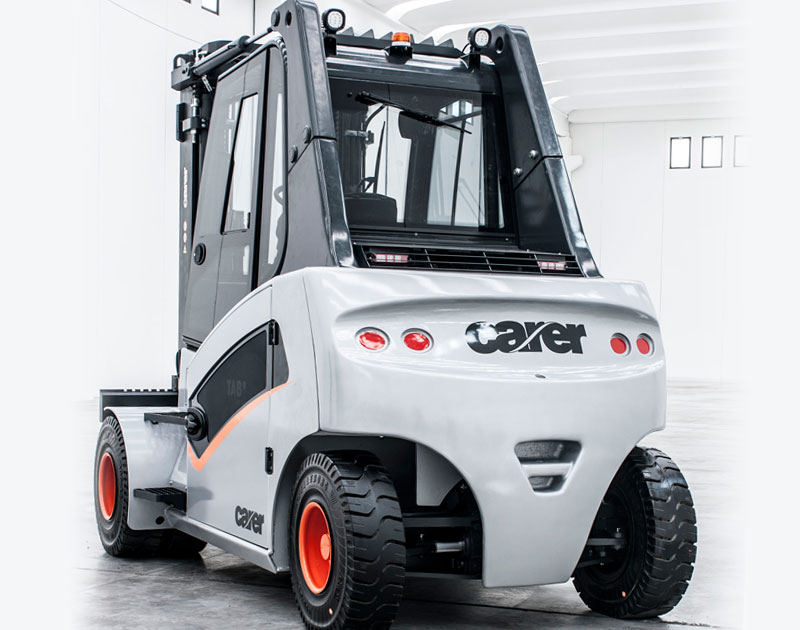 Carer Electric Forklift Trucks - A series