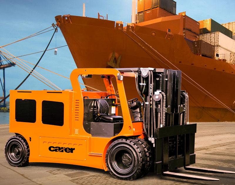 Carer Electric Forklift Trucks Industries
