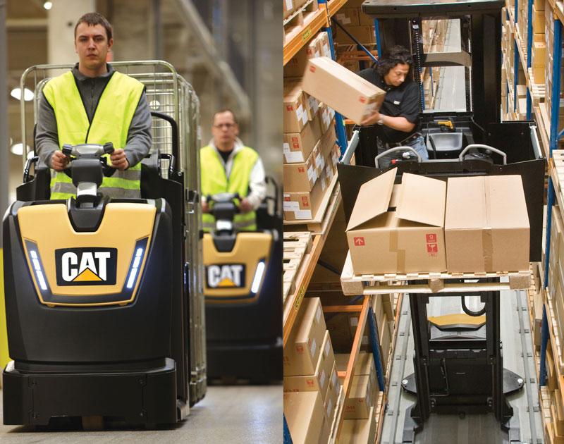 Warehouse equipment - Order Pickers
