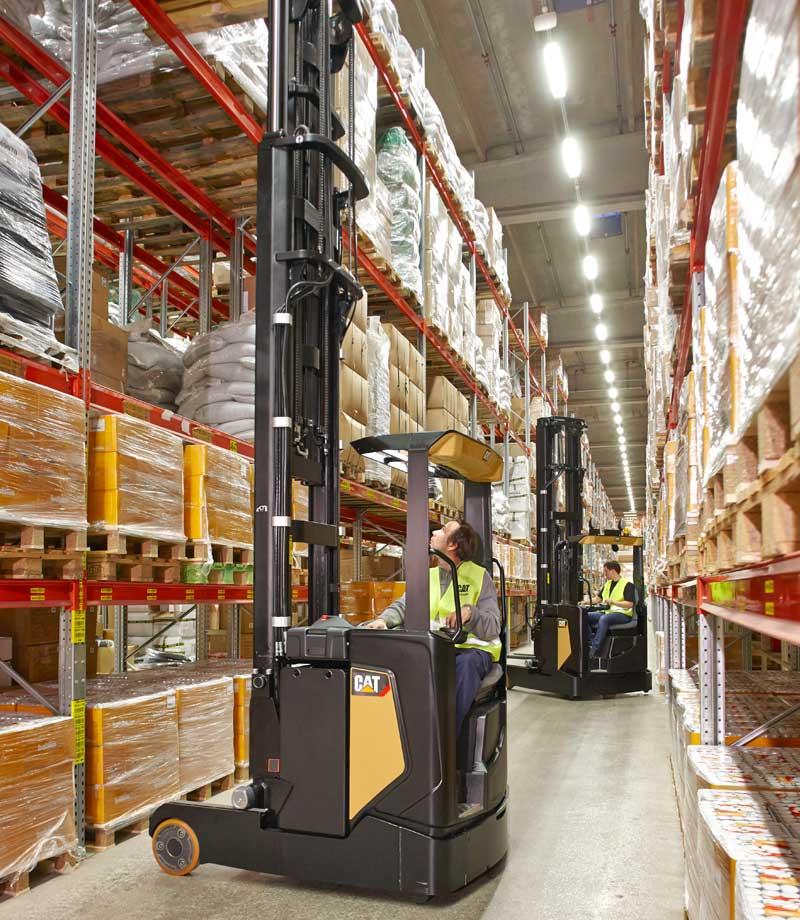 Warehouse equipment - Reach Trucks