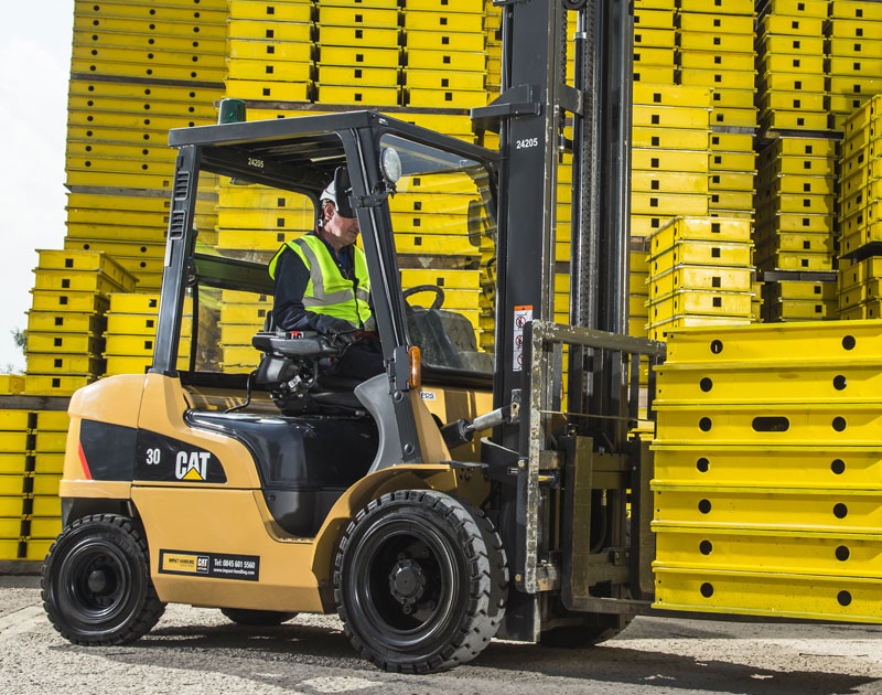CAT Diesel Counterbalance Forklift Truck