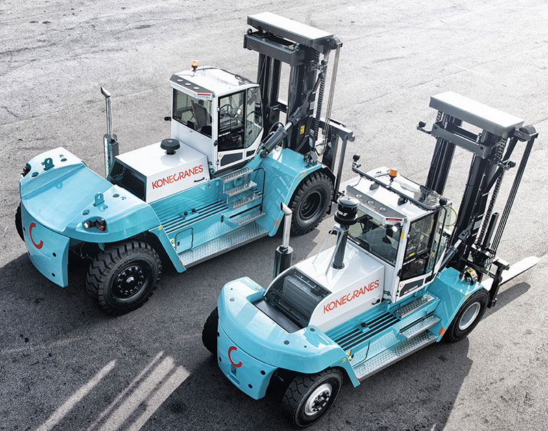 Konecranes Forklifts - Strong on the Outside