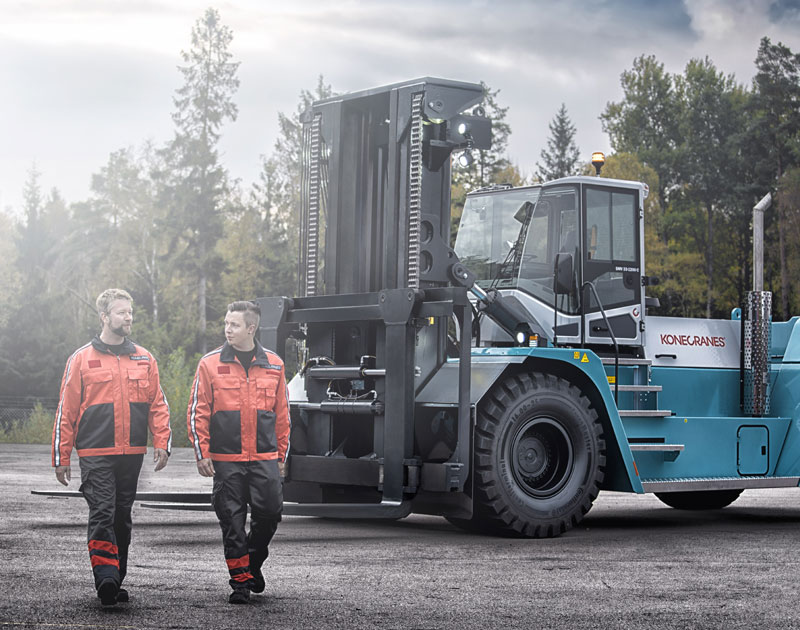 Konecranes Forklifts - Smart on the Inside
