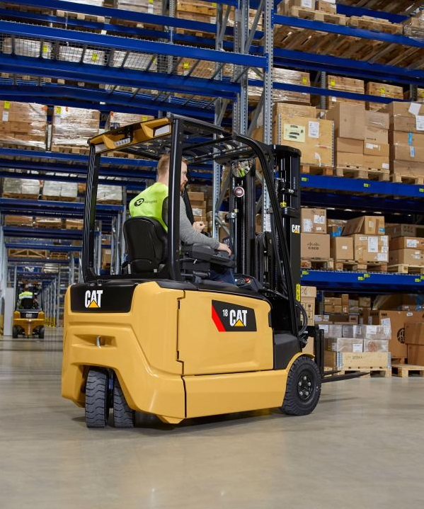 Cat Electric Forklift Trucks: CAT Electric Lift Trucks UK
