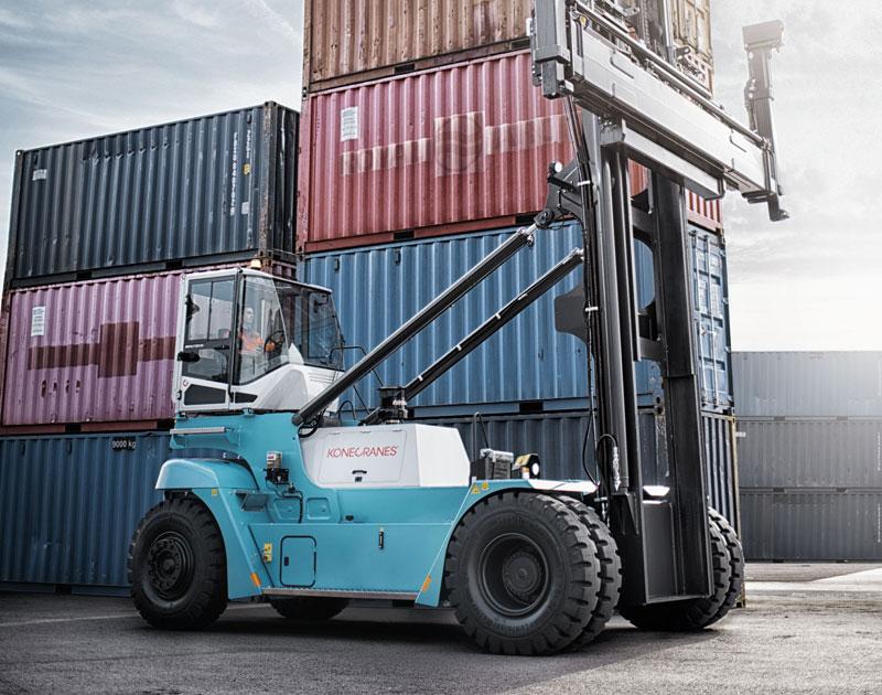Konecranes Laden Container handlers