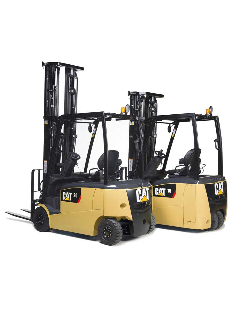 CAT 48V 3&4wheel Electric Counterbalance Forklift