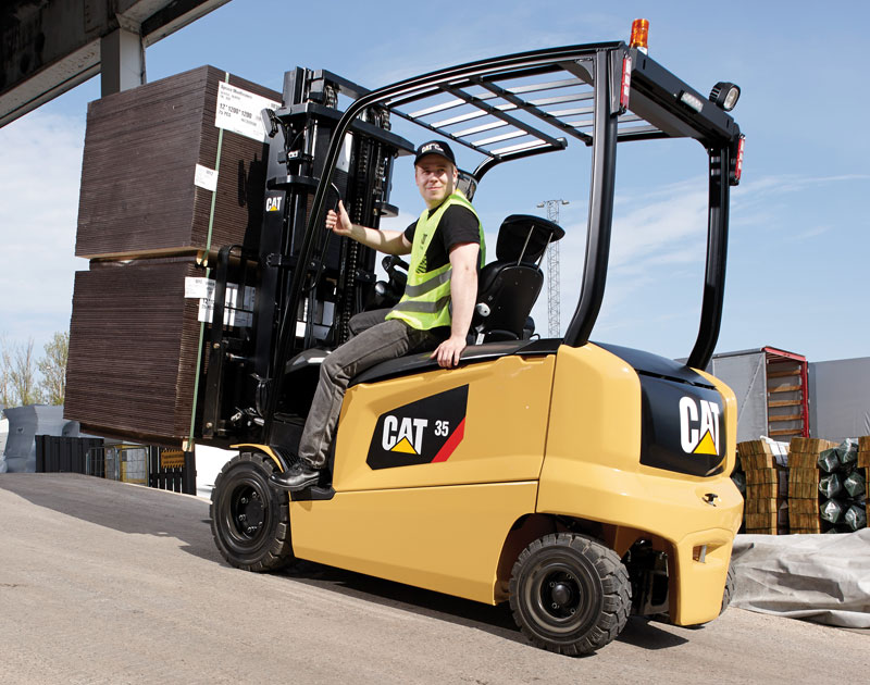Cat Lift Trucks Northern Ireland