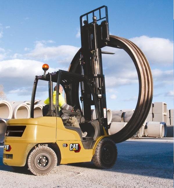 Diesel counterbalance forklift