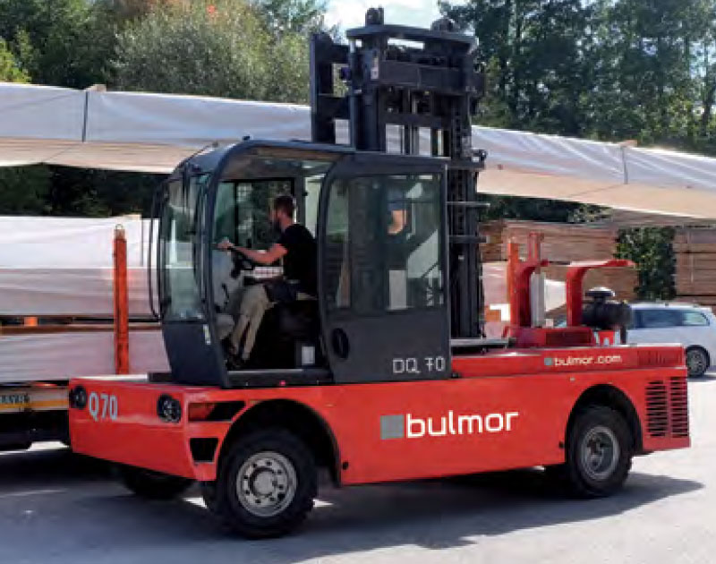 Bulmor - Diesel side loader