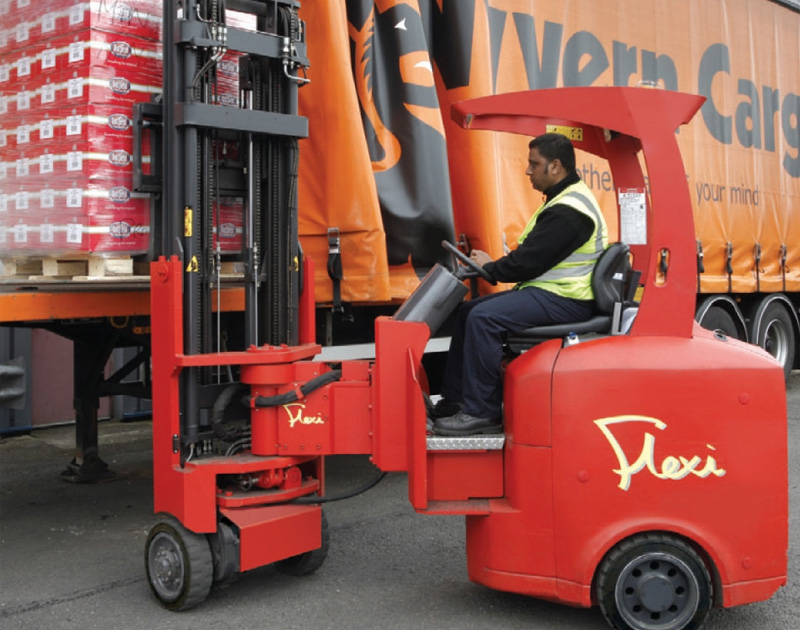 Flexi - leading articulated narrow aisle truck