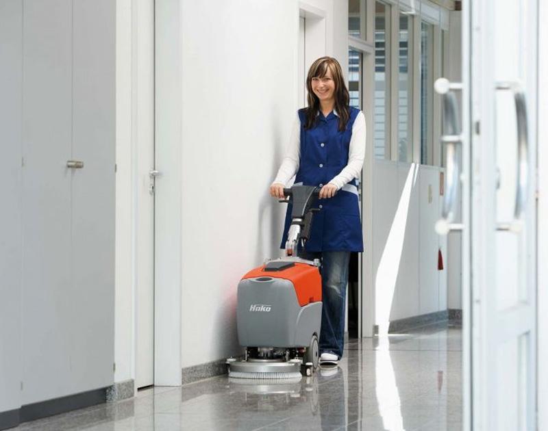 HAKO - pedestrian scrubber driers