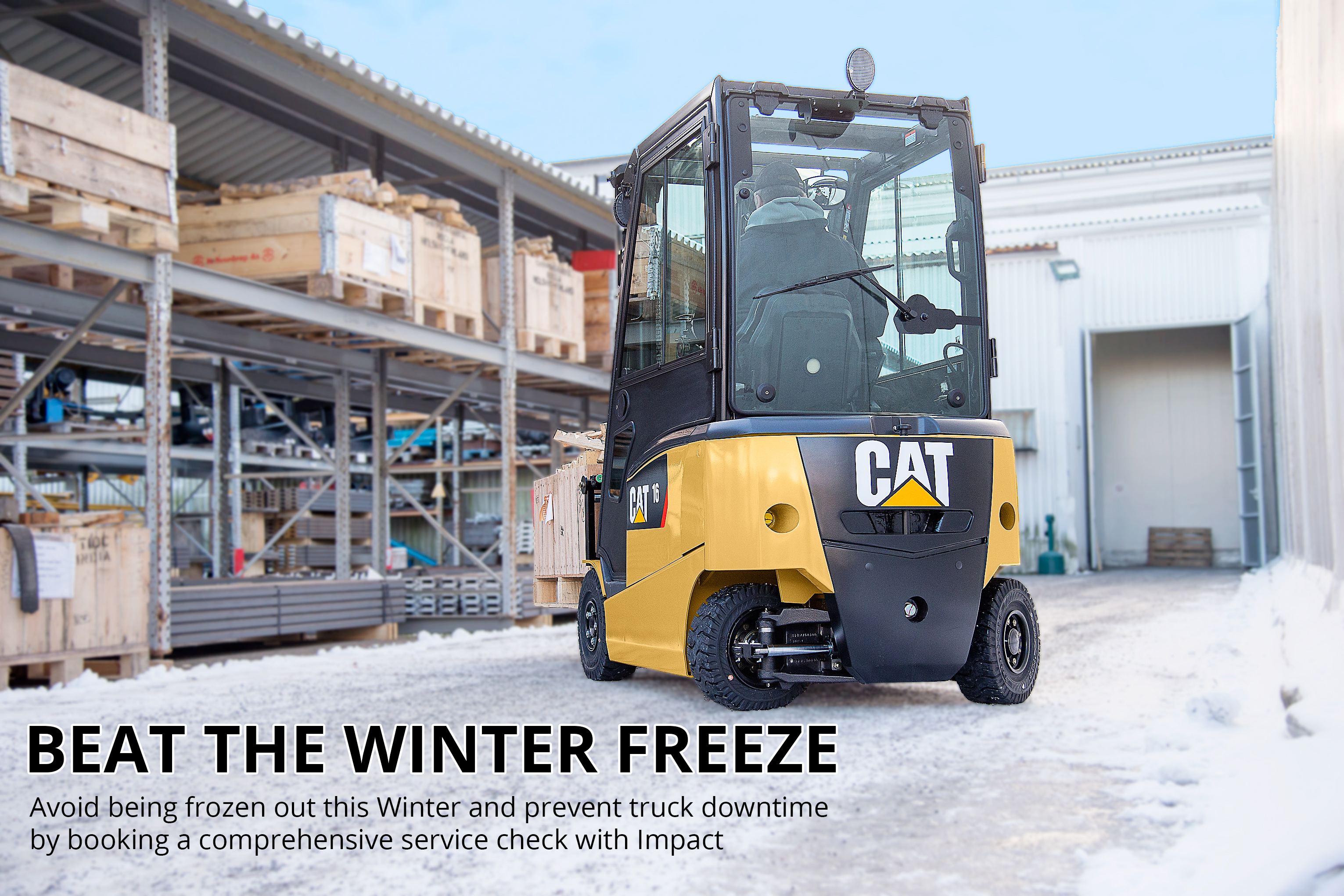 Forklift Truck safety in winter